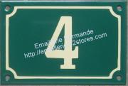 plaque de porte ivoire