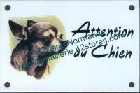 Plaque émaillée (10x15cm) Chihuahua 2