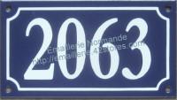 Plaque de rue émaillée 10x15cm ou 10x18cm (voir fiche produit) Nouvelle écriture (les photos présentées ne changent pas avec votre commande)