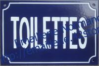3- Plaque standard (20x30cm) TOILETTES