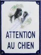 4. Attention au(x) chien(s) 15x20cm
