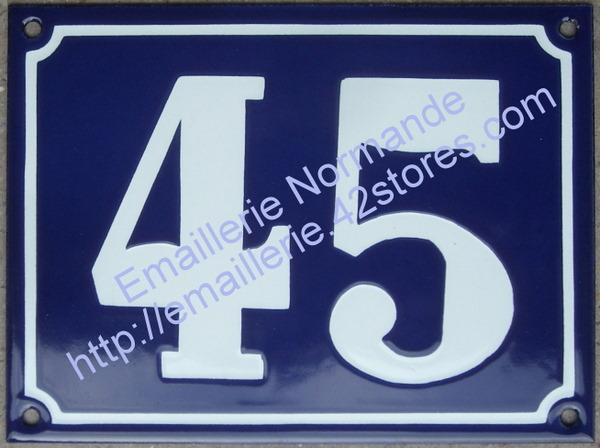 plaque de maison numero de rue plaque emaillee ancienne numero d immeuble emaille. Black Bedroom Furniture Sets. Home Design Ideas