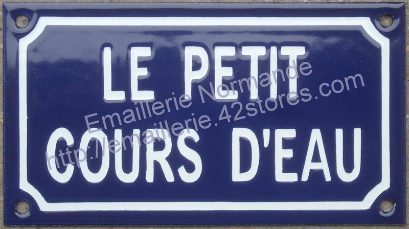 Personnalisation fabrication la demande plaque panneau for Plaque emaillee ancienne cuisine